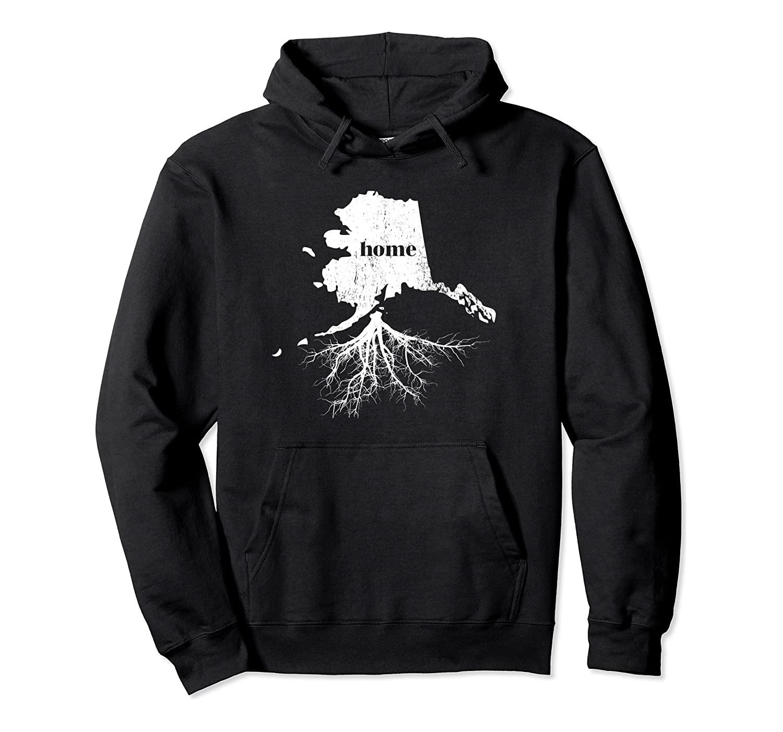 Alaska Hoodie Men Women Home Grown State Map Born Love Gifts