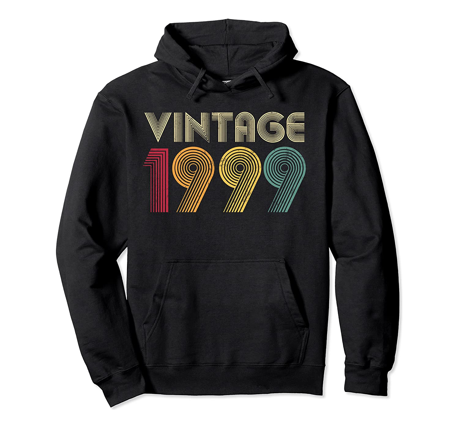 21st Birthday Gift Vintage 1999 Classic Men Women 21 Years Pullover Hoodie