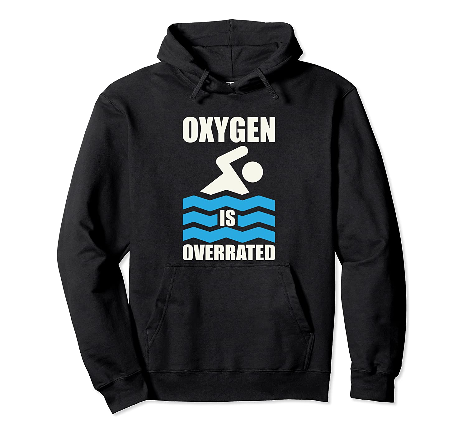 Awesome Swimming Gift Print Swim Coach Swim Team Oxygen Pullover Hoodie