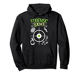 Amazon Com Crime Scene Forensic Science Gift For Forensic Detective Pullover Hoodie Clothing