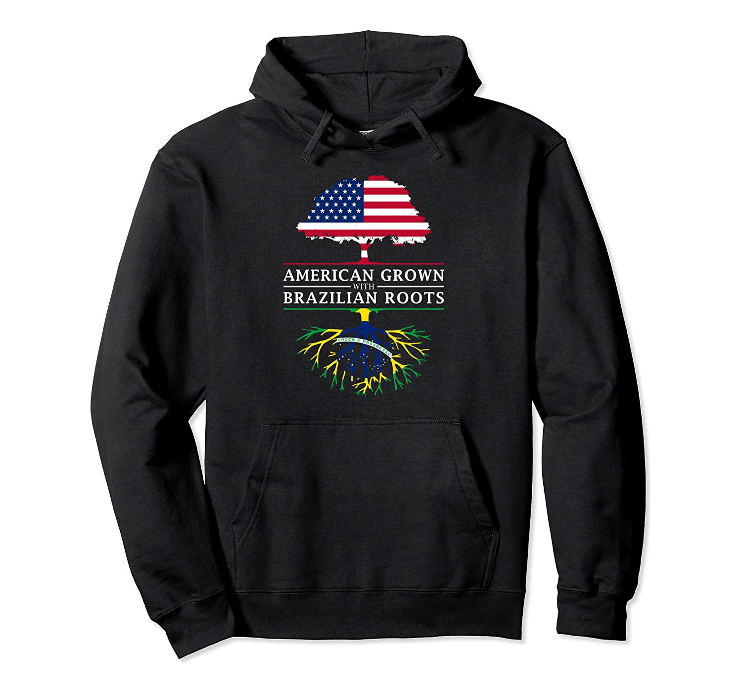 American Grown With Brazilian Roots Brazil Shirts