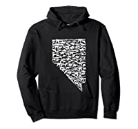 State Of Nevada Made Up Of Guns 2nd Adt Rights Shirts Hoodie Black