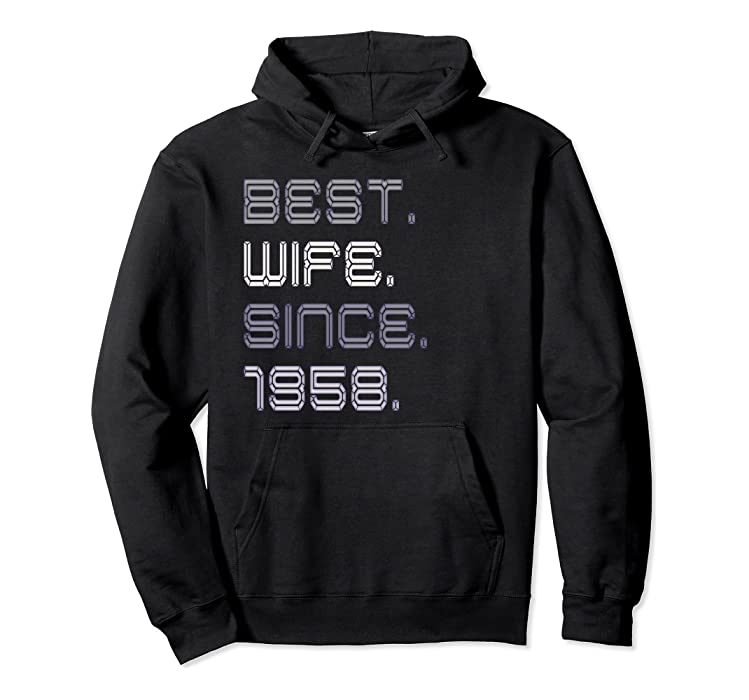 Amazon.com  Womens best wife since 1958 - 60th anniversary gift for her   Clothing bd2f04fd7