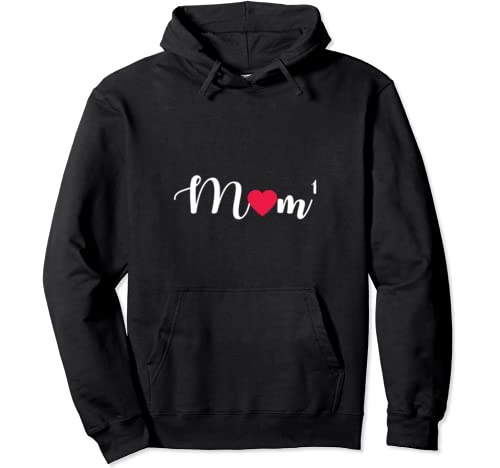 Moma 1 Kid Mom Birthday Gifts For Mothers Day Mommy And Me Pullover Hoodie