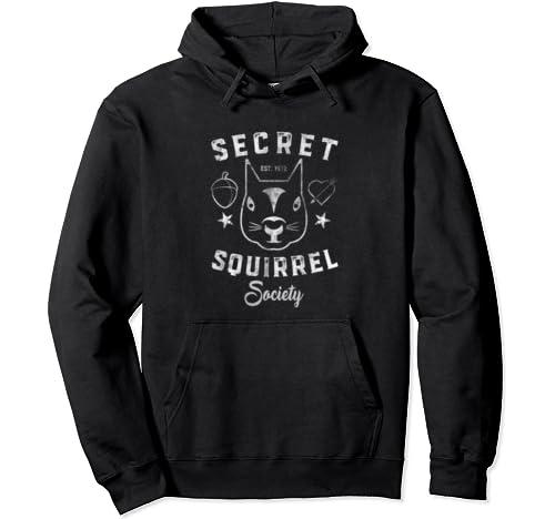Secret Squirrel Society Pullover Hoodie