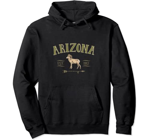 Arizona Bighorn Sheep For Men Women Boys Girls Souvenir Gift Pullover Hoodie