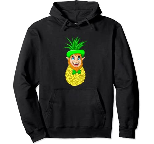 Pineapple Leprechaun | St. Patrick's Day Funny Gift Pullover Hoodie