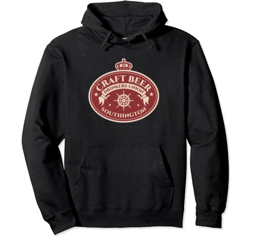 Craft Beer Drinkers Union Southington   Brew Lover Pullover Hoodie