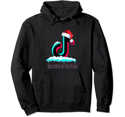 Graphic Tok Tik Of The Year Dancing Music Love Christmas Pullover Hoodie