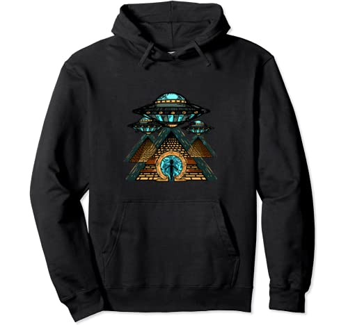 Ancient Astronaut Theorists Say Yes Gift For Astronauts Pullover Hoodie