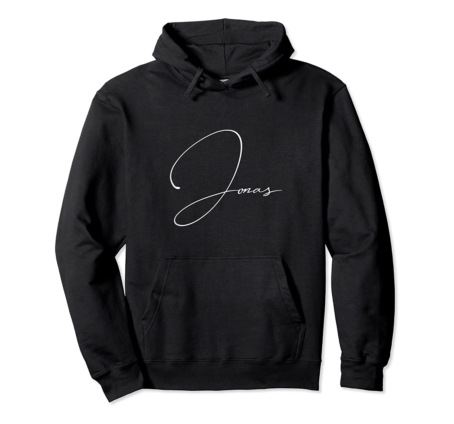Jonas First Given Name Pride Handwritten Font Tank Top Shirts Unisex Pullover Hoodie