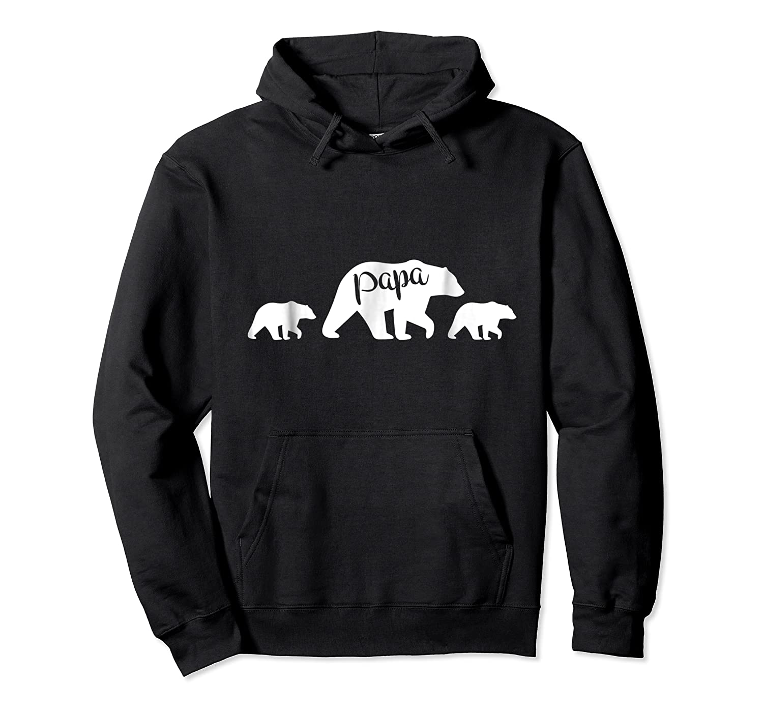 Papa Bear T Shirt With Two Cubs Father S Day Dad Unisex Pullover Hoodie