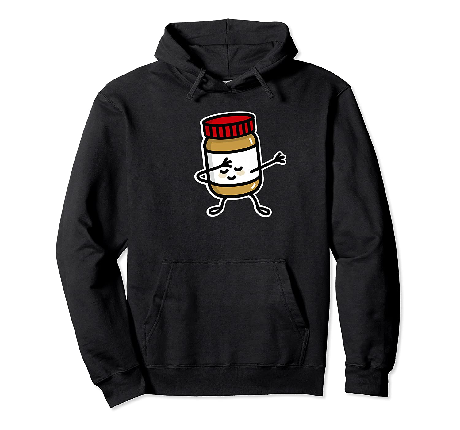 Dab Dabbing Peanut Butter Jar Funny Jelly Spreads Premium T Shirt Unisex Pullover Hoodie