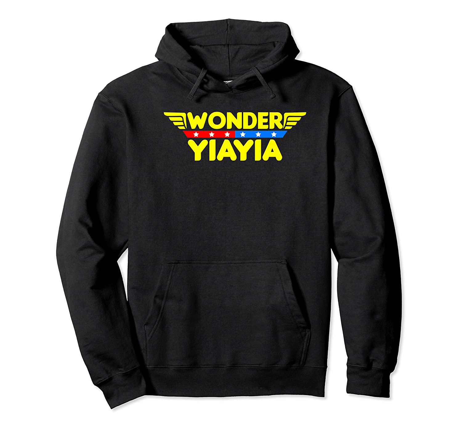 Wonder Yiayia Mother S Day Gift Mom Grandma T Shirt Unisex Pullover Hoodie