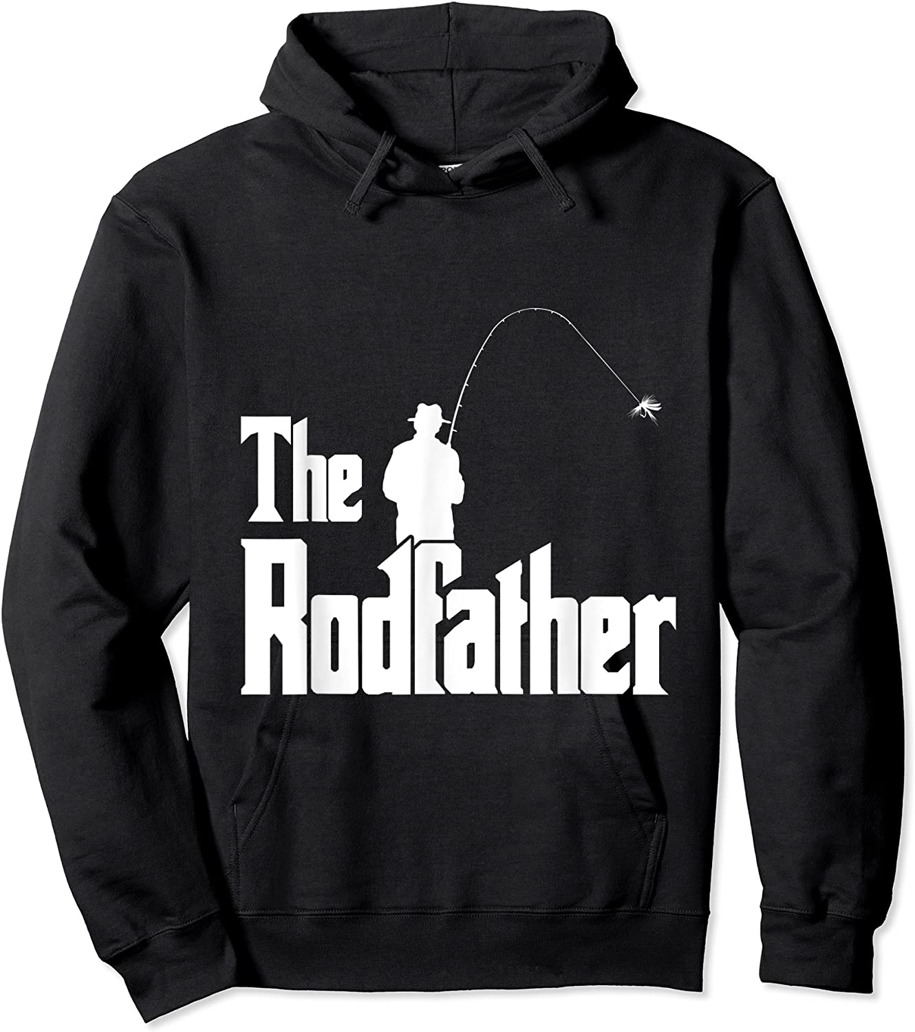 The Rodfather Is On The River This Christmas T-shirt Unisex Pullover Hoodie