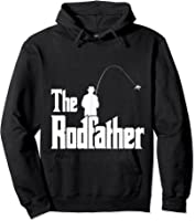 The Rodfather Is On The River This Christmas T-shirt Hoodie Black
