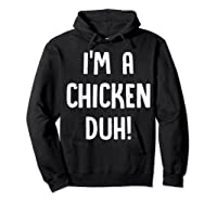 Chicken Halloween Shirt Costume Out Funny Gift Boy Girl Hoodie Black