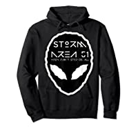 Storm Area 51 They Cant Stop Us All Alien Face September 20 Shirts Hoodie Black