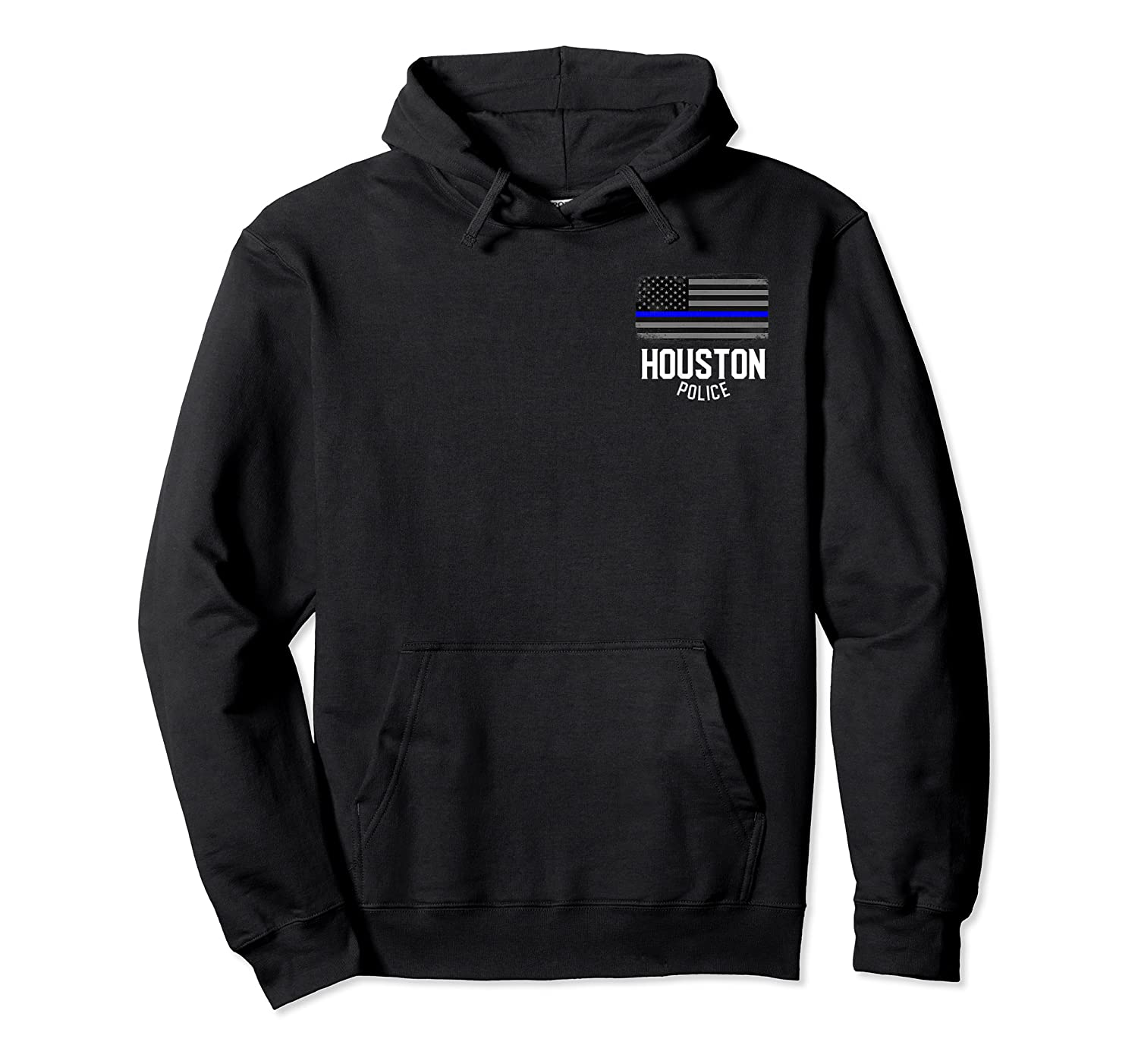 City Of Houston Police Officer Texas Policeman T Shirt Unisex Pullover Hoodie