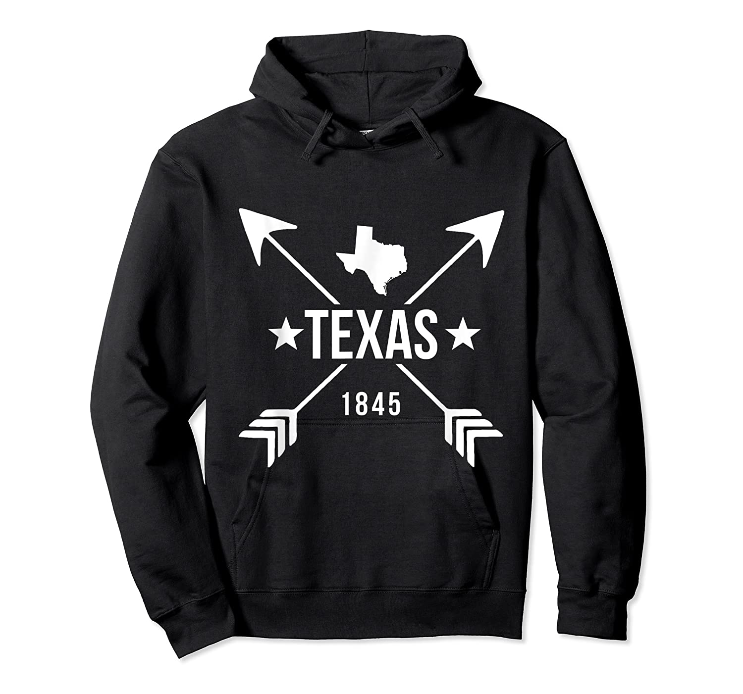 Texas 1845 Shirts Unisex Pullover Hoodie