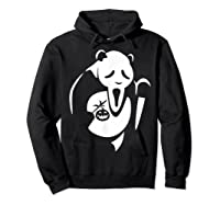 Panda Animal Halloween Diy Costume Funny Shirts Hoodie Black
