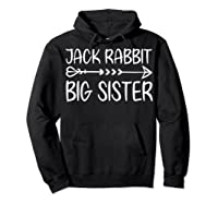Cute Fack Rabbit Big Sister Shirt T Shirt Hoodie Black