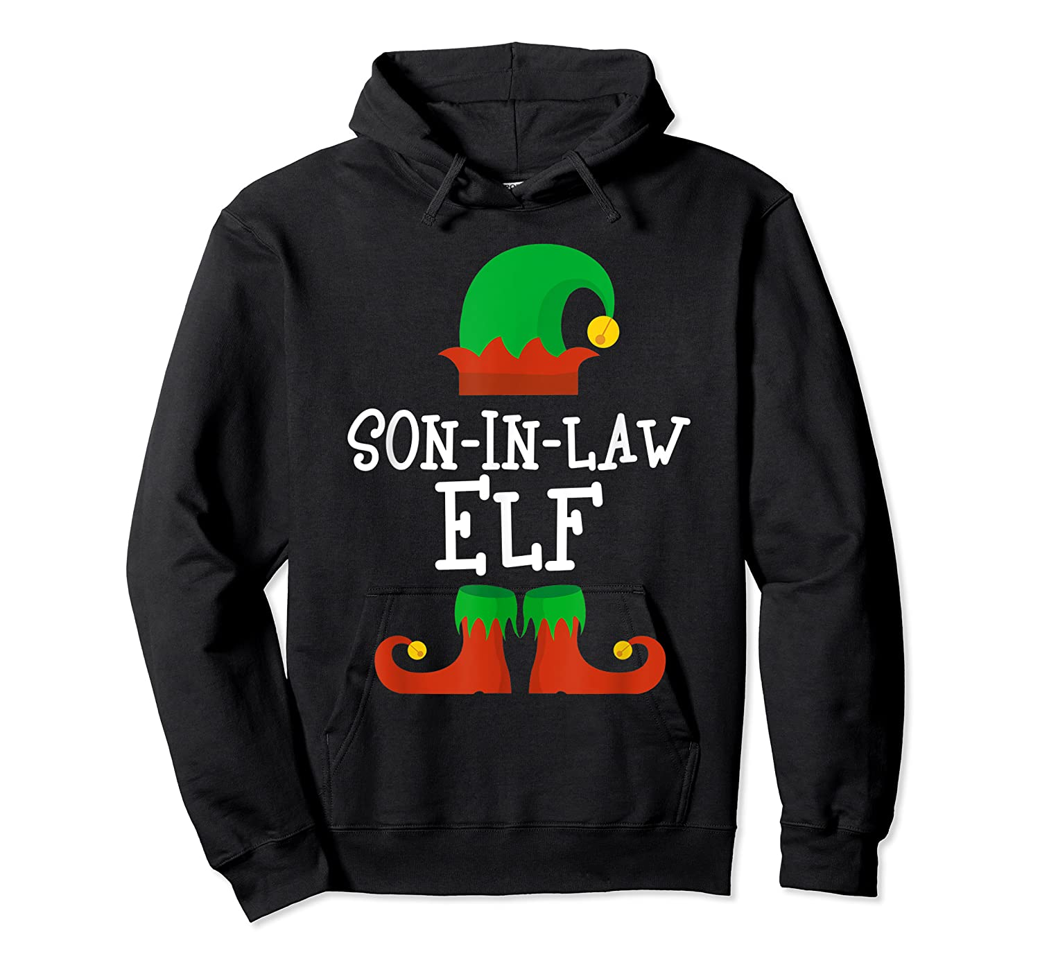Son-in-law Elf Christmas Funny T-shirt Unisex Pullover Hoodie