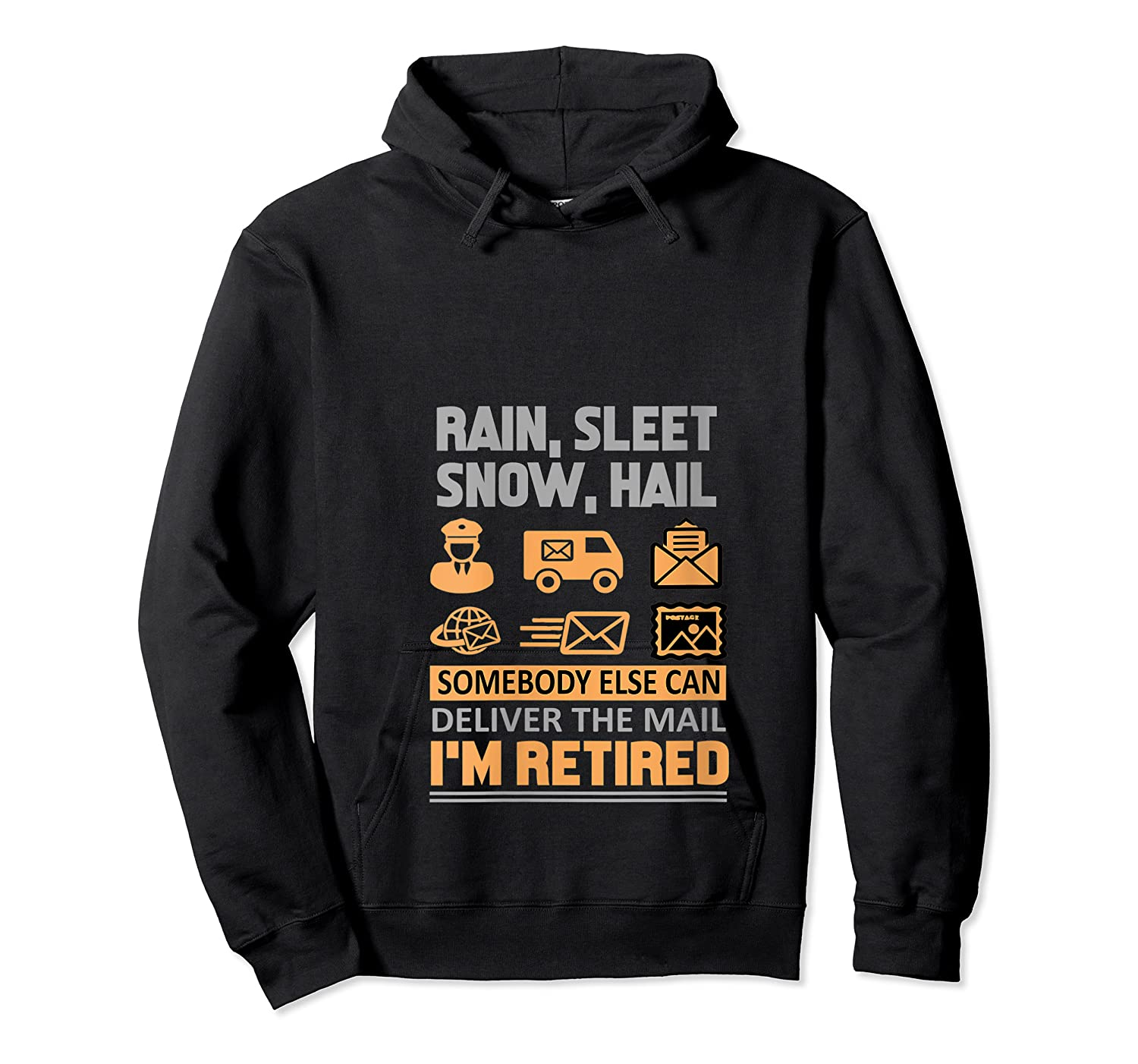 Postal Worker Retiret Gifts Funny Post Office Shirts Unisex Pullover Hoodie