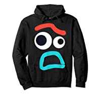 And Pixar Toy Story 4 Forky Timid Face Costume Shirts Hoodie Black