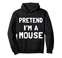 Mouse Halloween Costume Funny Gift Shirts Hoodie Black
