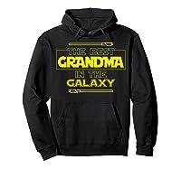 Best Grandma In The Galaxy Mother S Day T Shirt Star Grandma Hoodie Black