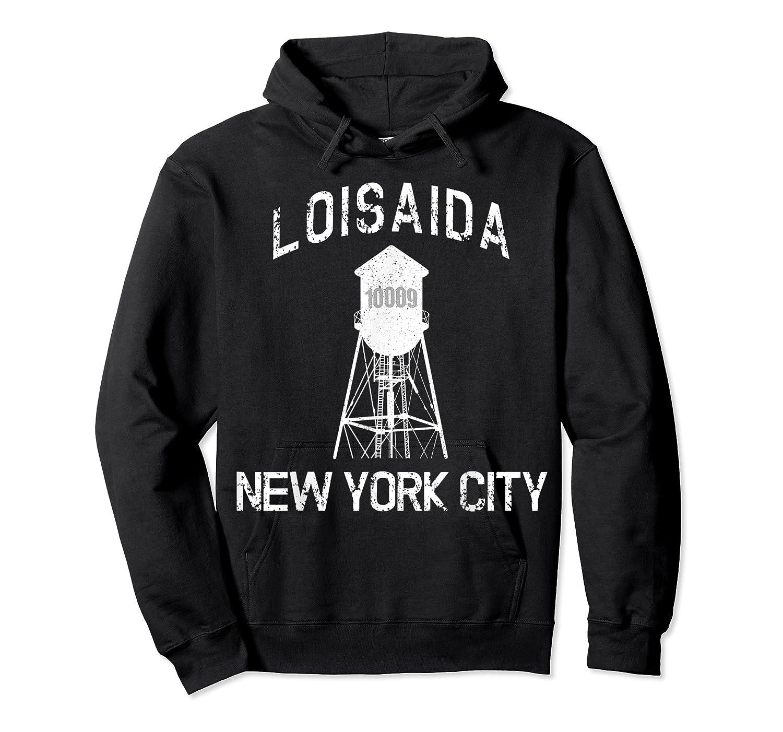 Loisaida New York City 10009 Nyc Alphabet City Water Tower T Shirt Unisex Pullover Hoodie