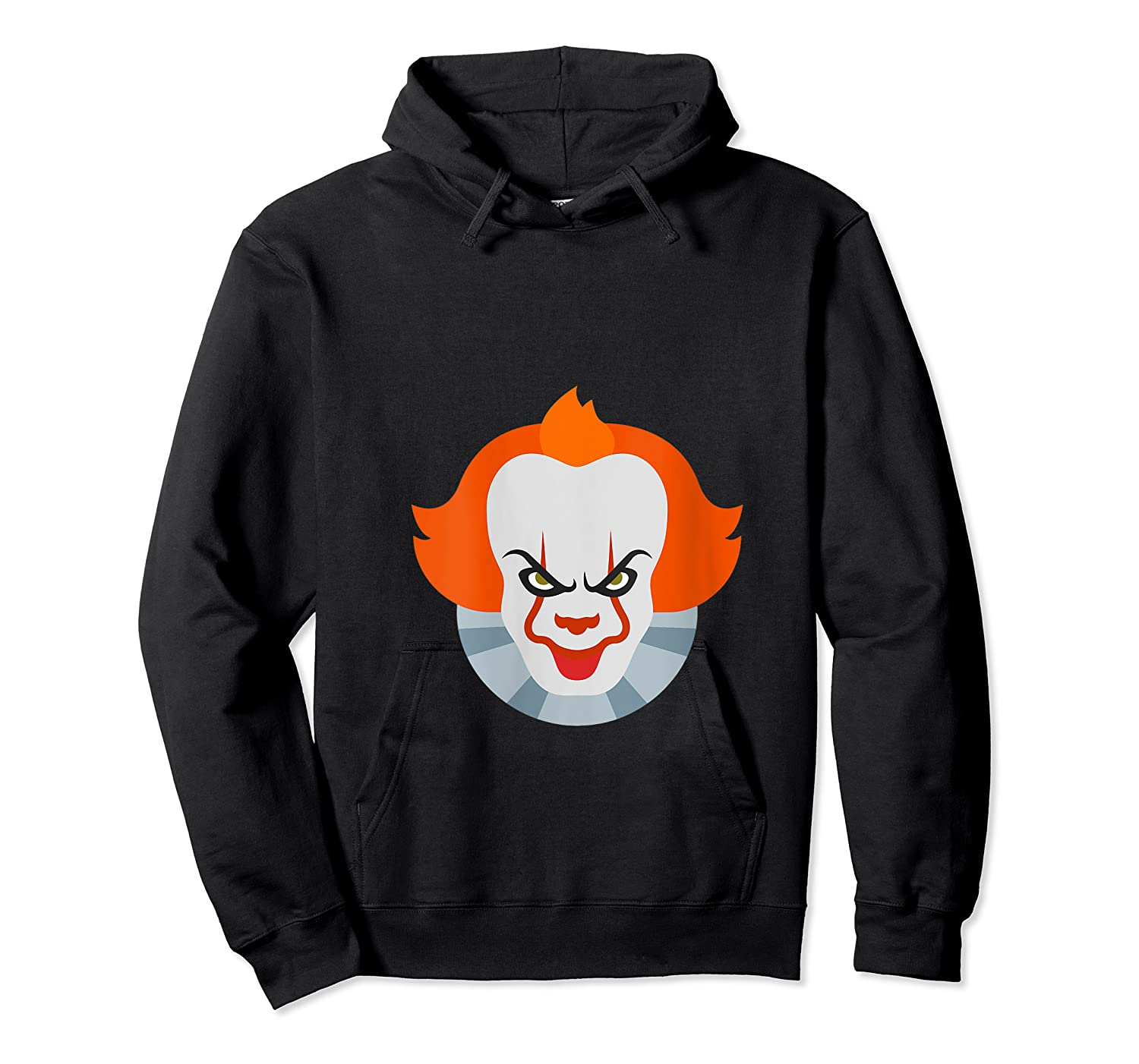 Scary Clown Halloween Gift T-shirt Unisex Pullover Hoodie