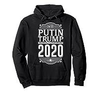 Resist Russian Putin Impeach President Putin Trump 2020 Premium T Shirt Hoodie Black