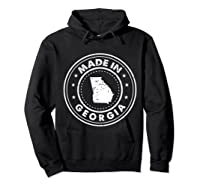 Made In Georgia Vintage State Pride Usa Shirts Hoodie Black