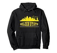 Golden State Distressed Basketball Team Fan Warrior Shirts Hoodie Black