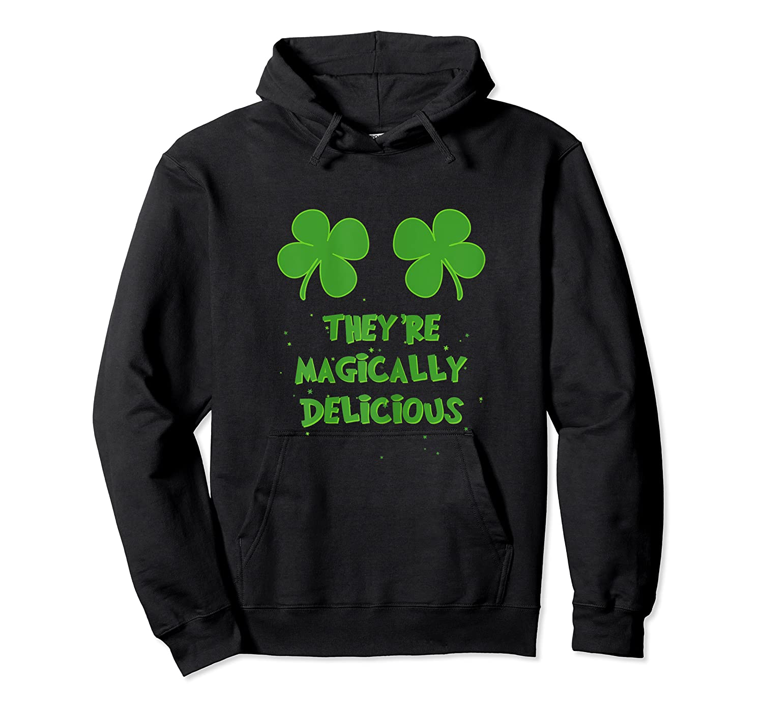 Funny Shamrock Boobs Saint St Patrick S Paddys Day T Shirt Unisex Pullover Hoodie