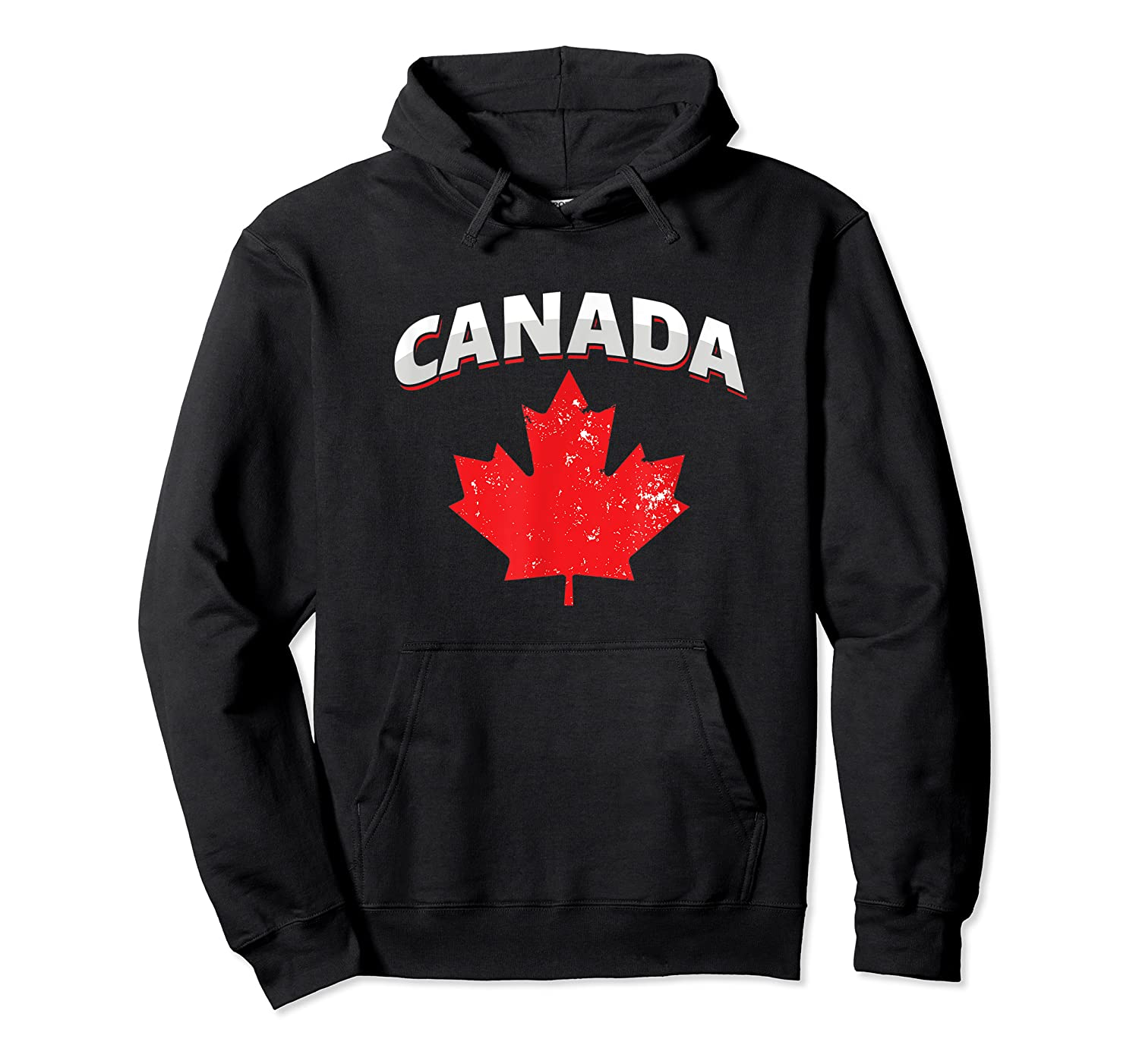 Toronto Vancouver Patriotic Canadian Canada Maple Leaf Shirts Unisex Pullover Hoodie