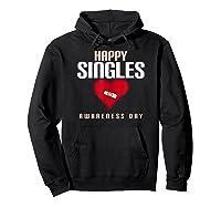 Broken Heart Band Aid Design Cute Printed Top Shirts Hoodie Black