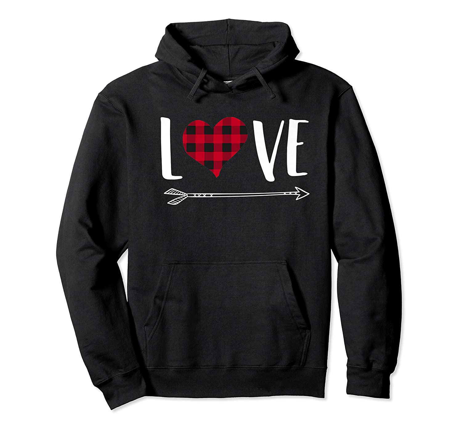 Love Heart Arrow T Shirt Best Gift For Valentines Day Unisex Pullover Hoodie