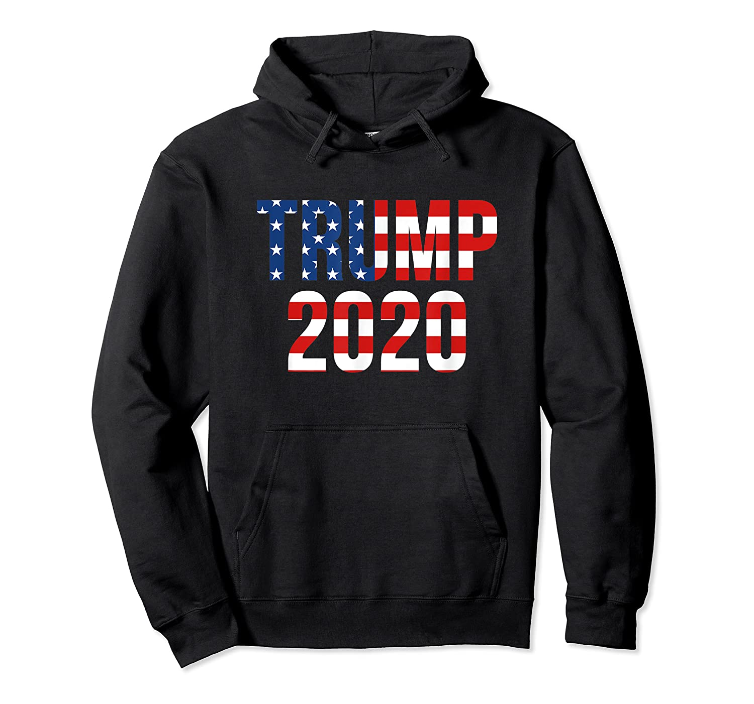 President Trump 2020 American Flag Usa Presidential Election T Shirt Unisex Pullover Hoodie