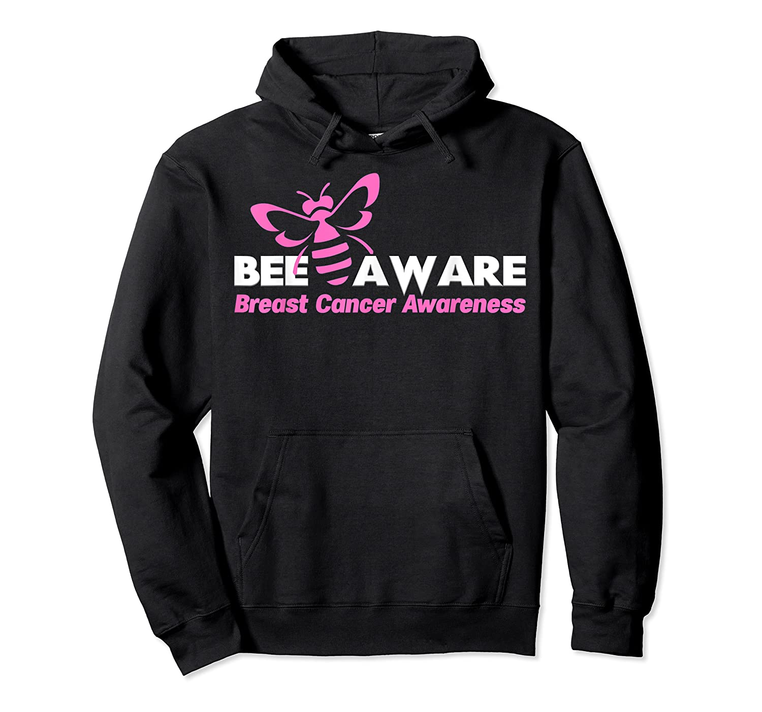 Bee Aware October Is Breast Cancer Awareness Month T Shirt T Shirt Unisex Pullover Hoodie