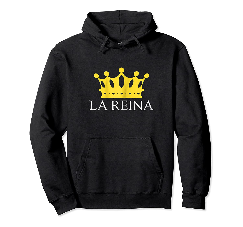 El Rey Y La Reina Pareja King Queen Matching Couple Shirts Unisex Pullover Hoodie