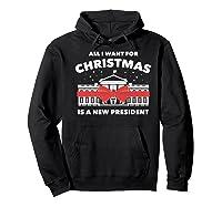 Resist And Impeach President For Christmas 2020 Anti Trump Premium T Shirt Hoodie Black