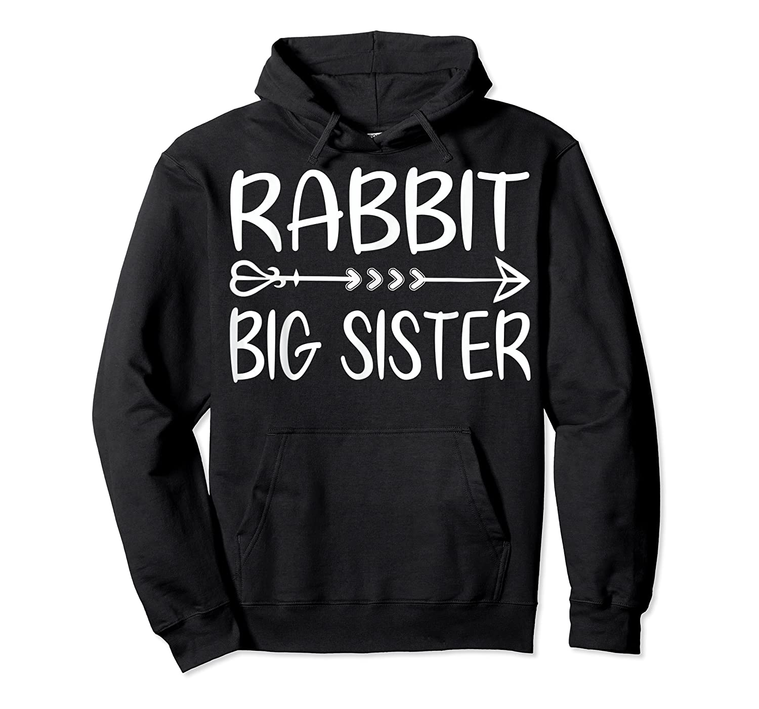 Cute Rabbit Big Sister Shirt I M Going To Be A Big Sister T Shirt Unisex Pullover Hoodie
