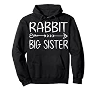 Cute Rabbit Big Sister Shirt I M Going To Be A Big Sister T Shirt Hoodie Black
