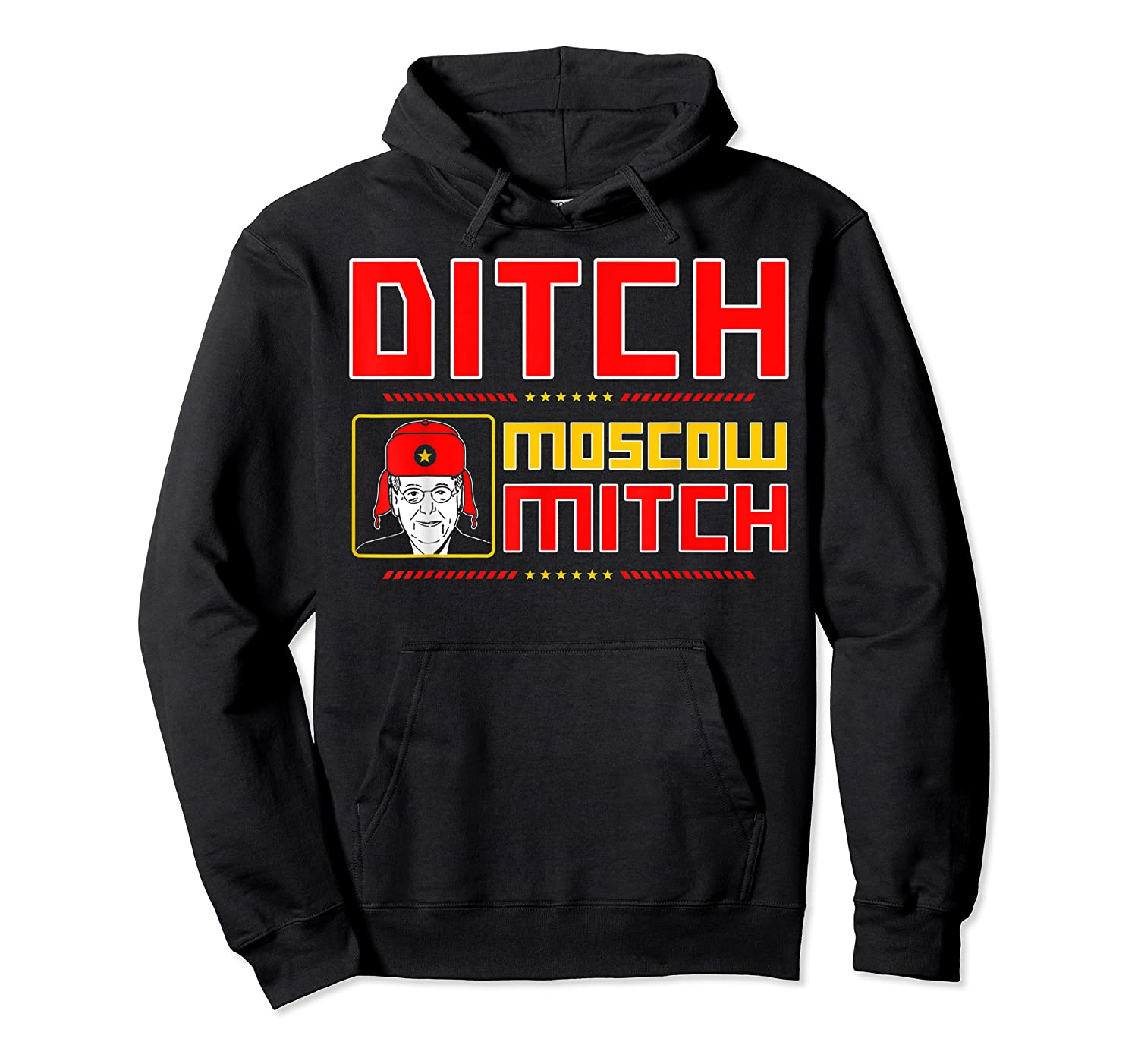 Traitors Ditch Moscow Mitch Impeach Trump 86 45 T Shirt Unisex Pullover Hoodie