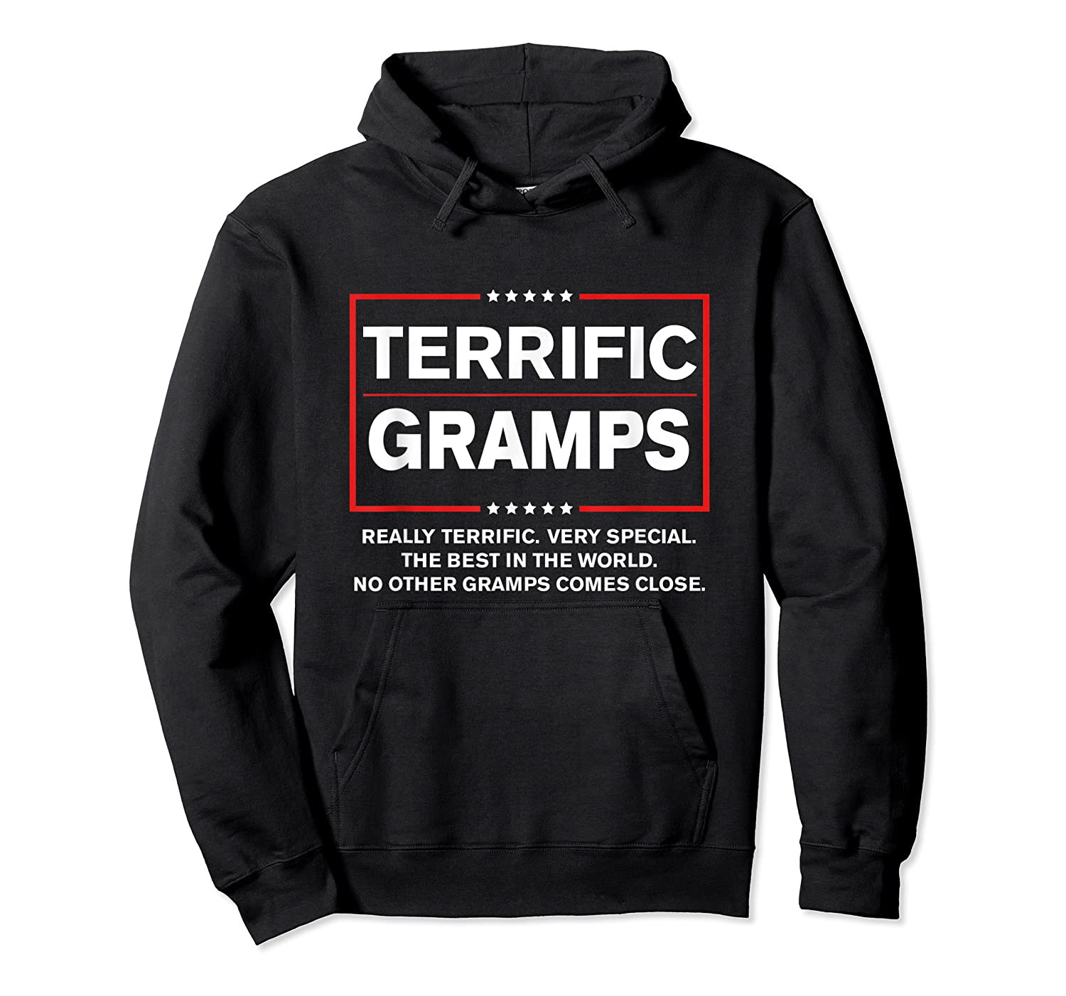 Donald Trump Fathers Day Gift For Gramps Funny Campaign Sign T Shirt Unisex Pullover Hoodie