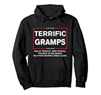 Donald Trump Fathers Day Gift For Gramps Funny Campaign Sign T Shirt Hoodie Black