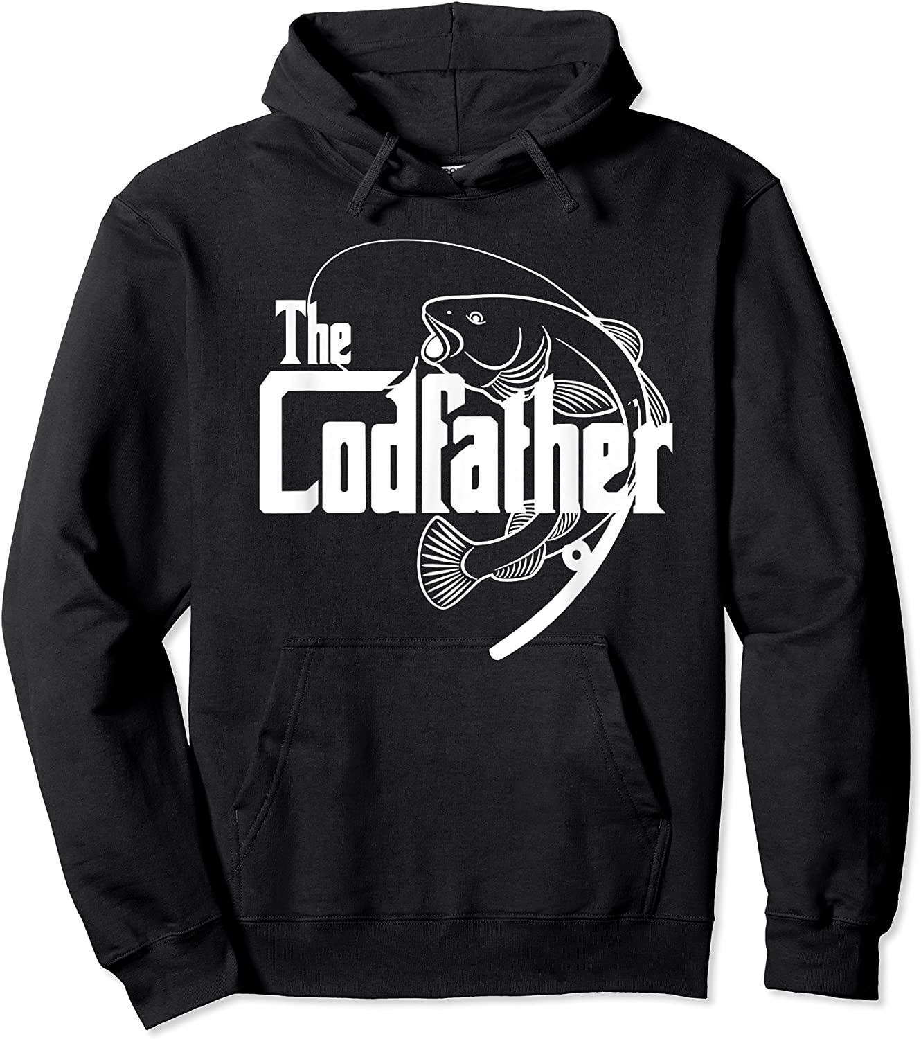 S Codfather Cod Fishing Fisherman Angler Novelty Humor Gifts T-shirt Unisex Pullover Hoodie